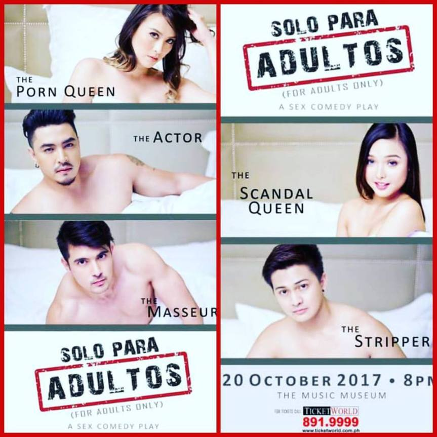 """Solo Para Adultos"" (For Adults Only), magsisimula na sa October 20 at the Music Museum"