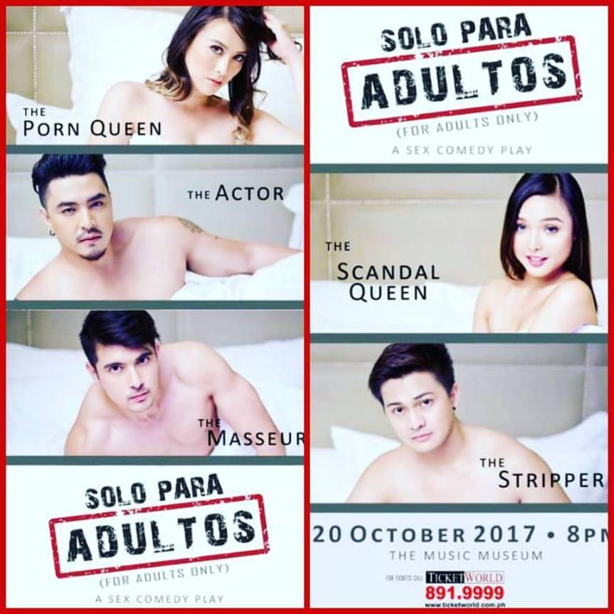 """Solo Para Adultos"" (For Adults Only), magsisimula na sa October 20 at the MusicMuseum"