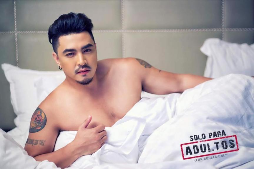 "John Raspado is one of the cast of a sexy-comedy play, ""Solo Para Adultos"", October 20, at the Music Museum"