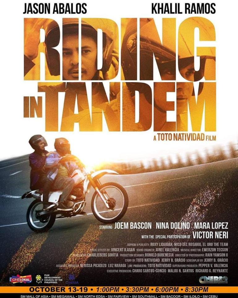 riding in tandem movie poster