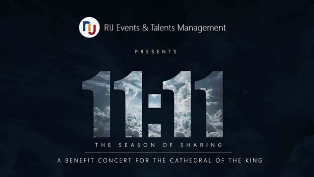 "Suportahan natin ang konsyertong ""11:11 The Season of Sharing"" ngayong November 11"