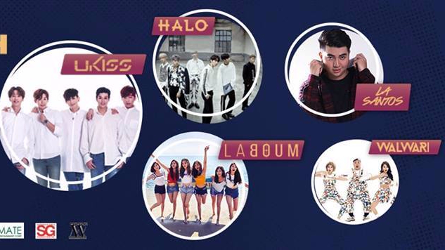 Meet LA Santos, Halo, Walwari, Laboum, and UKiss in the flesh in KFest PH 2017 Fan Meet