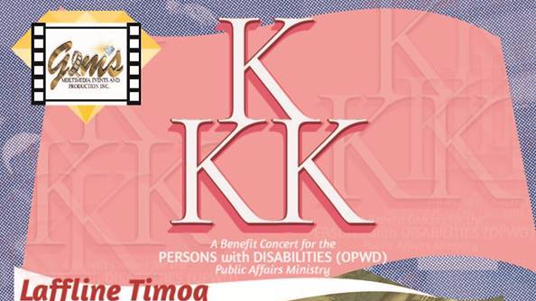 "Watch Kyline Alcantara, Kiray Celis, and the Banda ni Kleggy live in ""KKK"": a benefit concert for the Persons with Disability OPWD-PAM"