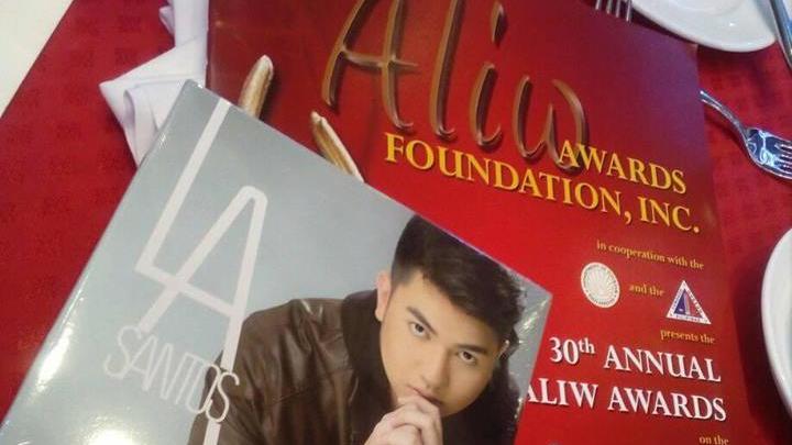L.A Santos won the Best New Artist award in 30th AliwAwards