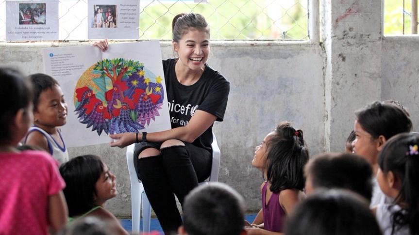 Anne Curtis, nag-donate ng P 7.5 million saUNICEF