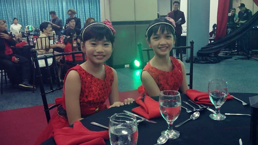 Kikay and Mikay are one of the guest stars during the grand launch of Fil Alemania Productions Co.