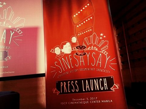 Calling all filmmakers and history buffs: FDCP and NHCP LaunchSineSaysay