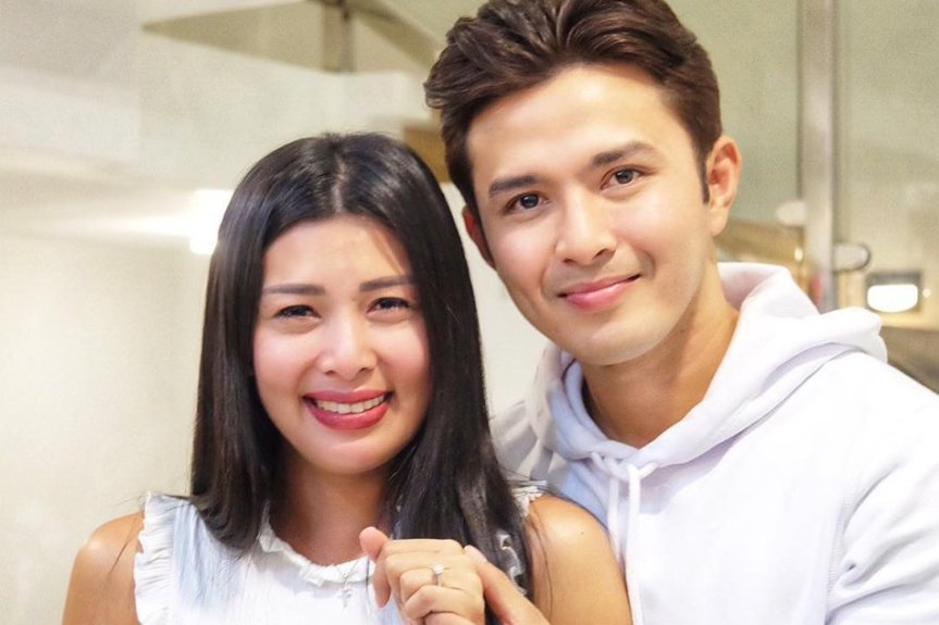 Sunshine Garcia at Alex Castro engaged na