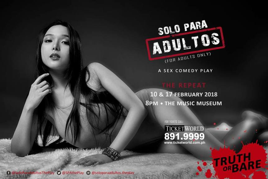 Singapore's Sweetheart Tori Garcia is back for Solo Para Adultos