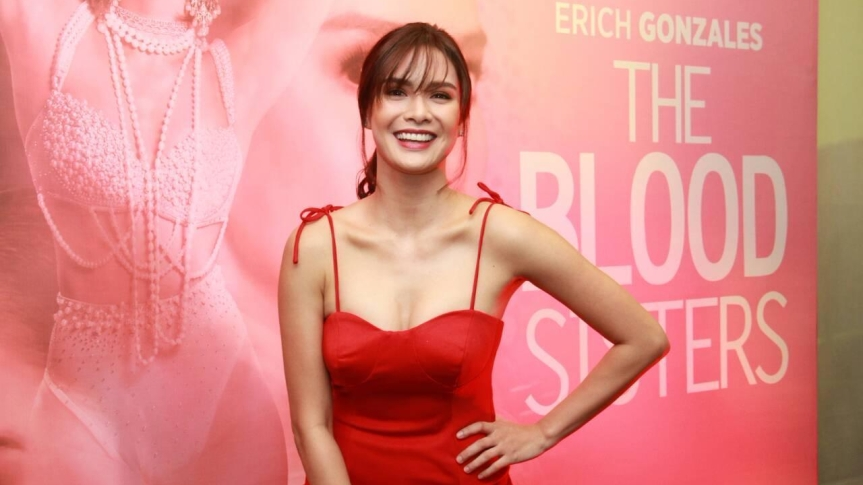 "Check out Erich Gonzales' upcoming series ""The Blood Sisters"" via TFC online"