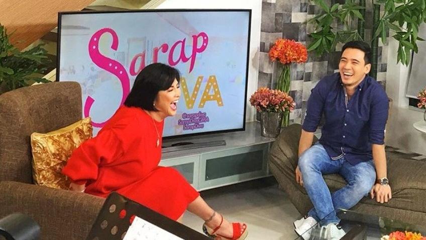 Kapamilya star na si Erik Santos, naging usap-usapan ang pag-guest sa isang show sa KapusoNetwork