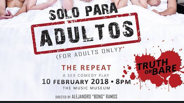 "Have an early Valentine's Day treat from the cast of ""Solo Para Adultos"""