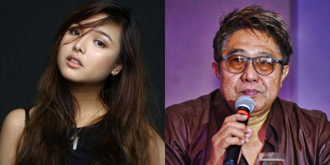 Singapore's Sweetheart Tori Garcia has apparently an upcoming project with the late Maryo J. de los Reyes