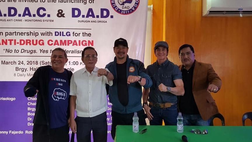 The launched of Barangay Anti-Drug Anti-Crime(BADAC) and Durugin ang Droga(DAD)