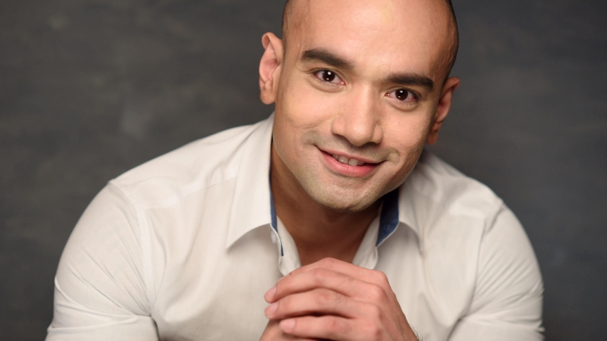 Mark Dionisio plays as a police officer in his upcoming advocacy film, Men inUniform