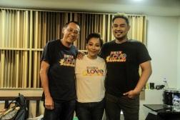 Hurados Louie Ocampo, Jaya, and Jed Madela
