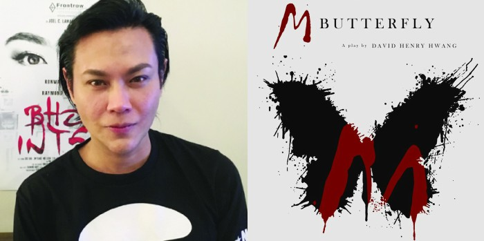 Raymond Francisco as Song Liling in the newest production of 'M.Butterfly'