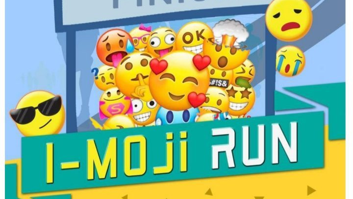 Wear your favorite emoji in I-moji Run 2018 this May 12th