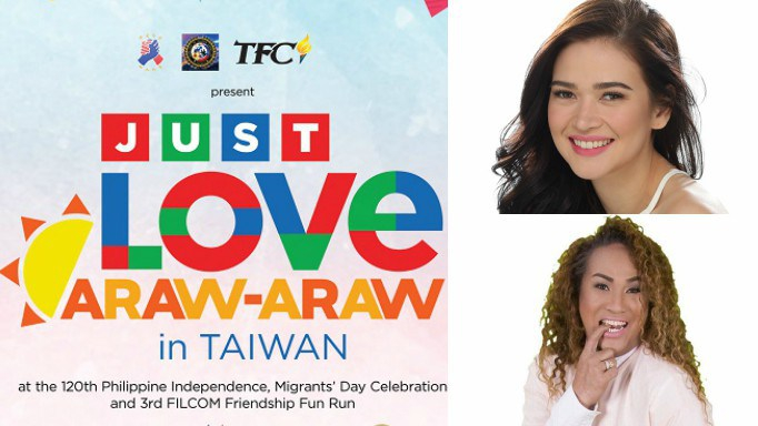 """Celebrate Migrant's Day with Bela Padilla and Negi for """"Just Love Araw-araw inTaiwan"""""""