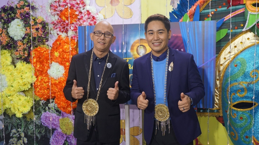 Steven Paysu of U.S. and Makoto Inoue of Japan are the 1st ever global representatives to the Huling Tapatan