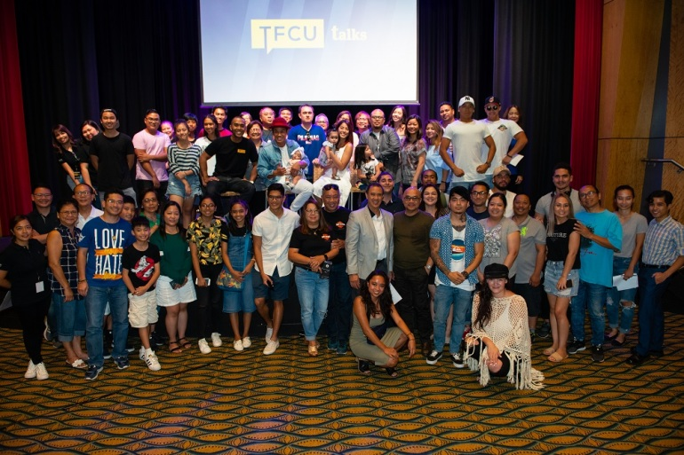 Students and young professionals gathered to be inspired at the first TFCU Talks Sydney