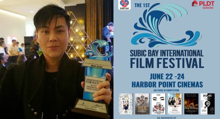 RS Francisco wins Best Actor in 1st Subic Bay International Film Festival