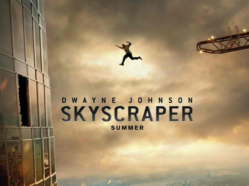 "Go Behind the Scenes of ""Skyscraper"" in New Featurette"