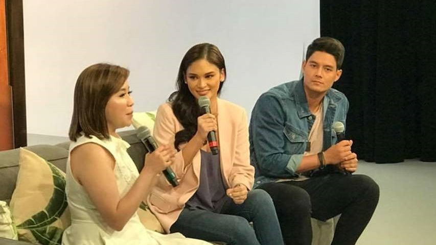 Here's what happened in Photo Op Session with Pia Wurtzbach and Daniel Matsunaga in California