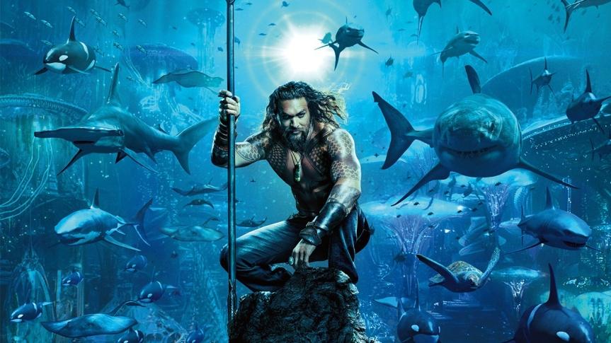 """DC Makes a Big Splash With """"Aquaman"""" OfficialTrailer"""