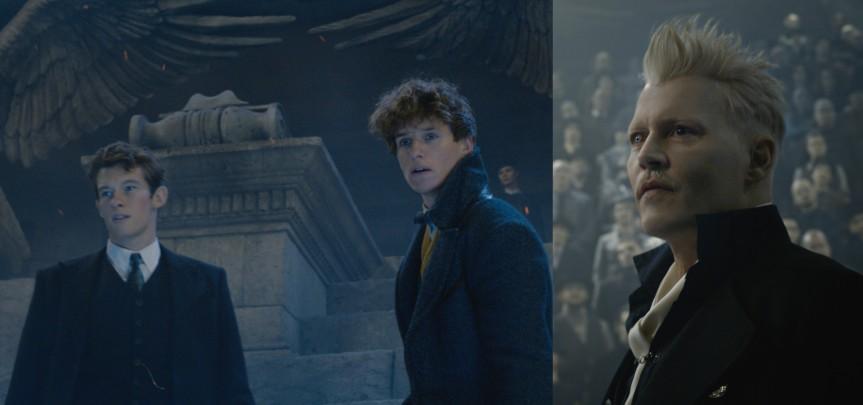 "Grindelwald Wrecks Havoc in New ""Fantastic Beasts""Trailer"