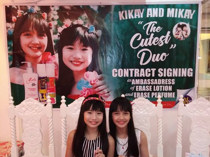 Kikay Mikay: the new ambassadresses of Erase lotion & perfume