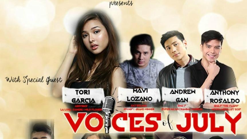 """Successful ang naging concert ng""""Voices of July"""": Mga Baguhang singer, nakatanggap ng maramingpapuri"""