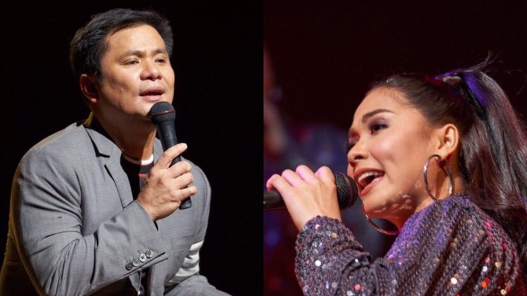 Ogie Alcasid and Maja Salvado perform live for their Filipino fans in Japan