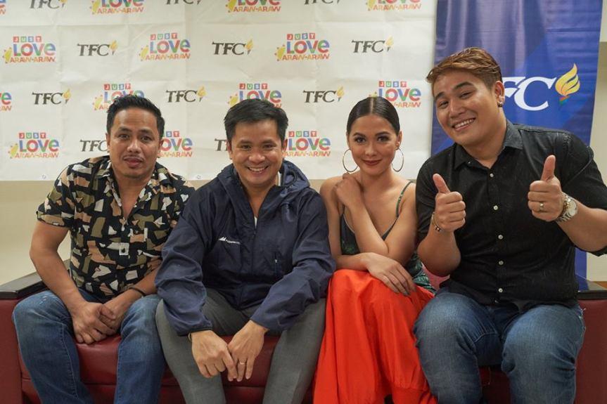 6-(L-R) Comedian Eric Nicolas, Singer-Songwriter Ogie Alcasid, Dance Empress Maja Salvador, and TnT Huling Tapatan finalist Makoto Inoue