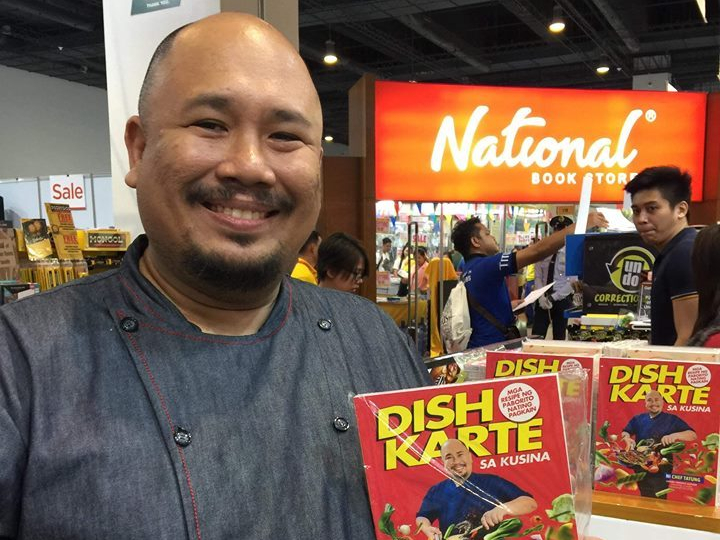 "Best-Selling Author Chef Tatung Releases his Newest Book ""Dishkarte sa Kusina"""