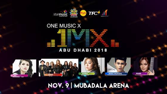 "KZ, Moira, Aegis, Maris, and Iñigo, performing live in ""One Music X Abu Dhabi"""