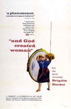 And God Created Woman Poster