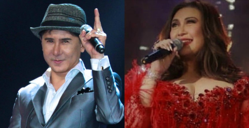 Songwriter-manager Joel Mendoza, composes a song for Megastar Sharon Cuneta
