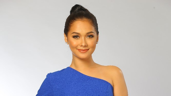 "Maja Salvador takes over the half-time break at TFC's ""Kapamilya Playoffs in Taiwan"""