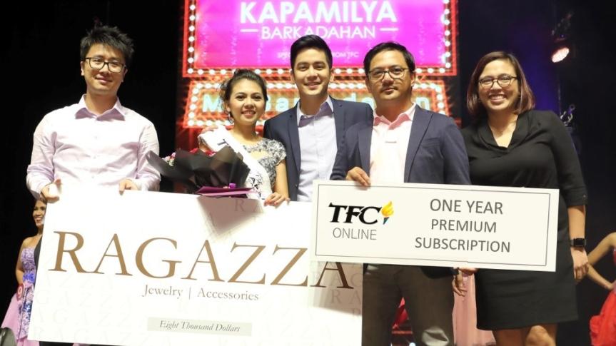 """SmarTone at TFC, kinoronahan ang """"Ms. Barkadahan 2018"""" winner na ginanap sa HongKong"""
