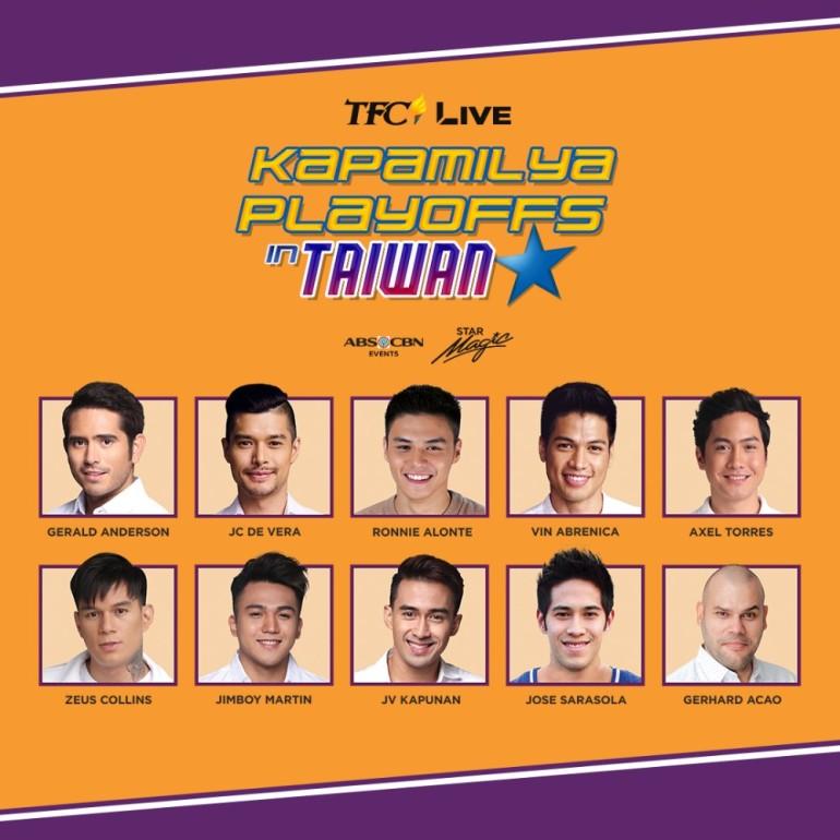 The Star Magic Team at the Kapamilya Playoffs in Taiwan