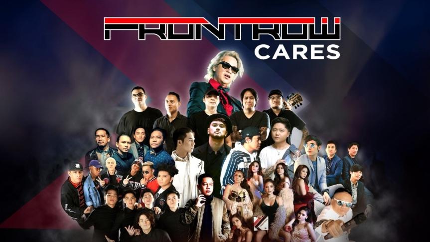"Ely Buendia, Jake Zyrus, Parokya ni Edgar, performing live for a cause in ""Frontrow Cares"""