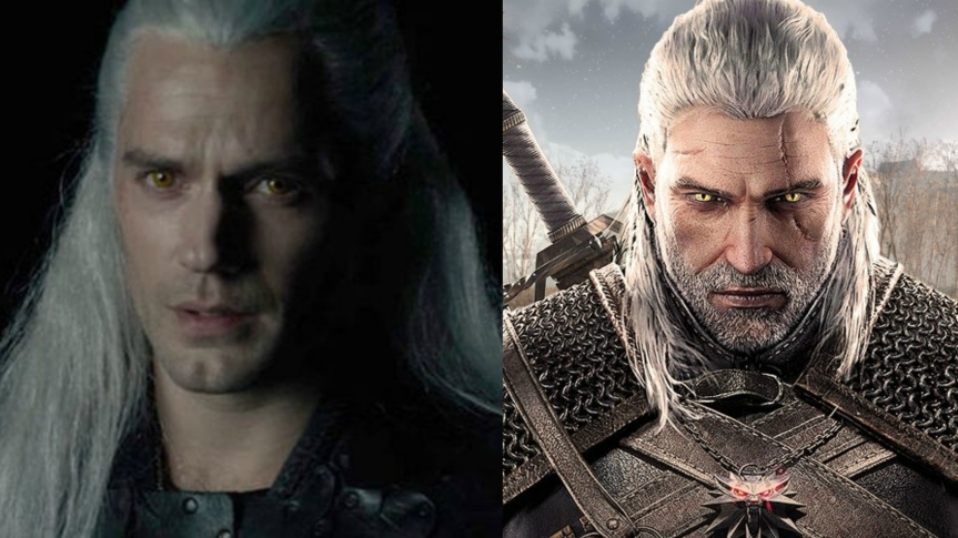 The Witcher fans divided over Henry Cavill's new look as Geralt