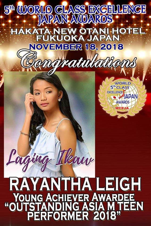 Rayantha Leigh japan
