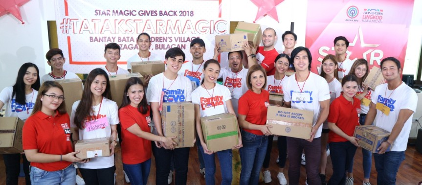 Star Magic Artists Come Together for a Cause in Star Magic Gives Back 2018