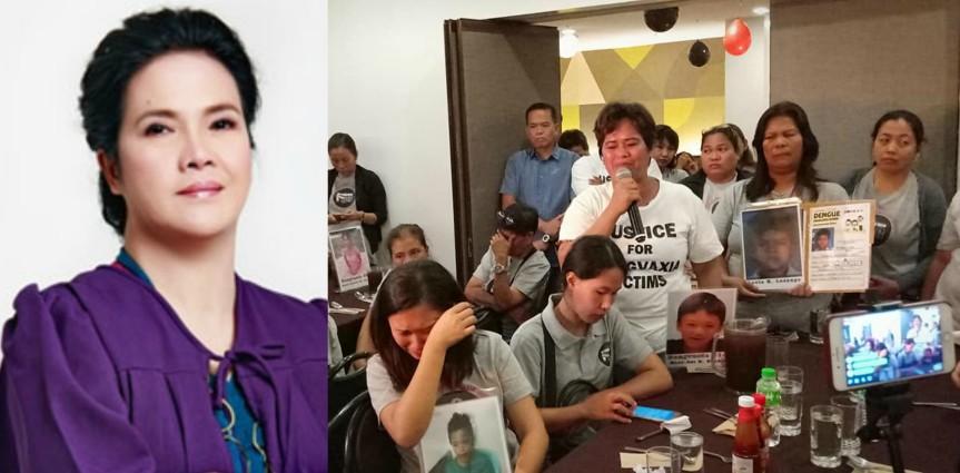 Mga magulang ng Dengvaxia victims, nilabas ang saloobin sa mabagal ng proseso ng kaso; PAO Chief Persida Acosta, todo sapagtulong