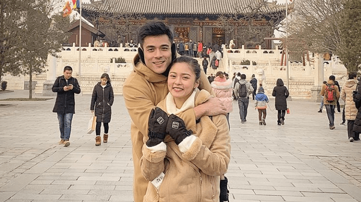Kim Chiu at Xian Lim, nagdiwang ng New Year sa China