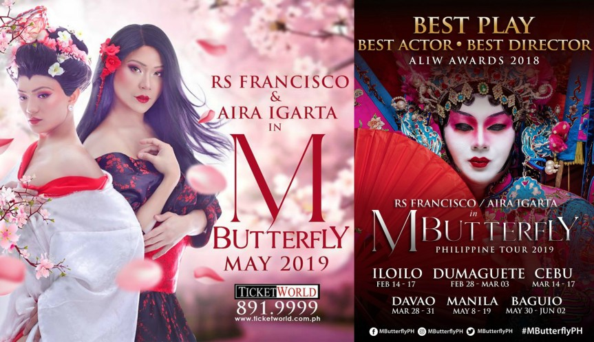 The award winning 'M. Butterfly' is back for a nationwide tour