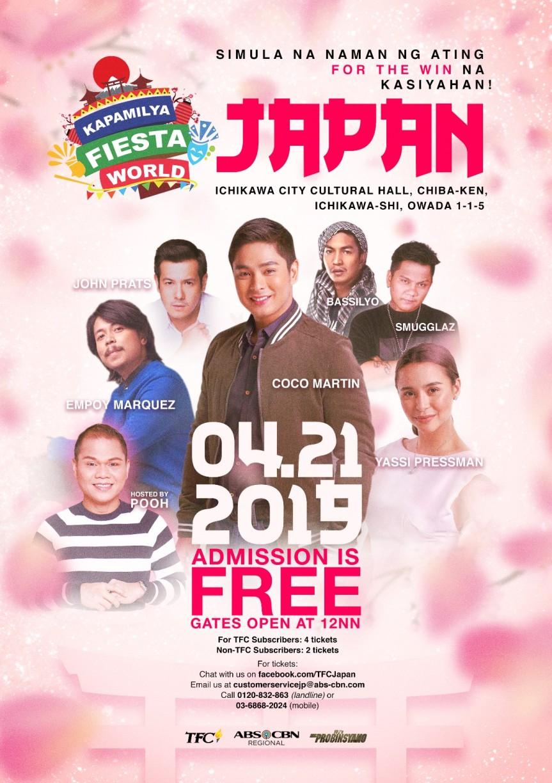 Kapamilya Fiesta World Japan-Poster