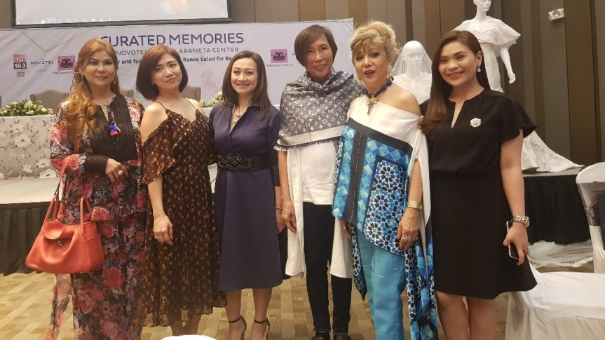 """Rene Salud's fashion show for a cause for """"Bantay Bata163"""""""
